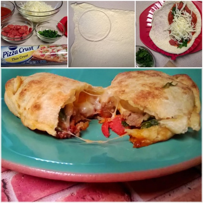 calzone collage