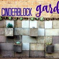 DIY Cinderblock Garden