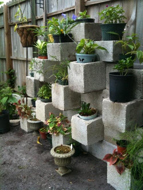 cinderblock garden 2