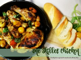 One Skillet Chicken Cover