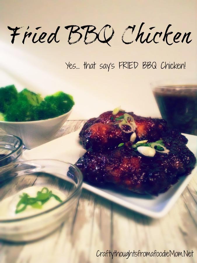 Fried BBQ Chicken