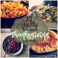 10 Healthy make-ahead Thanksgiving side dishes