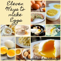11 ways to make eggs... not boring!