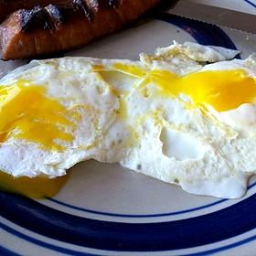eggs-over medium