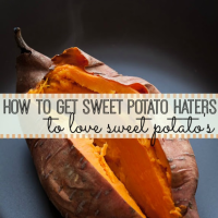 How to get sweet potato haters to love sweet potato's