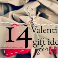 14 Valentine gift ideas for him