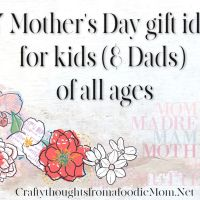 DIY Mother's Day gifts for all ages