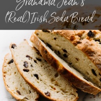Grandma Jean's (Real) Irish Soda Bread